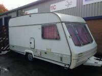 Swift rapide 4 birth caravan