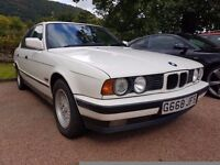 BMW e34 520i manual welded diff drift 3 owners full history and mot may px swap e30 e21 e46 e36