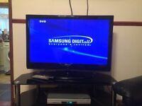 43 inch samsung flatscreen tv and stand