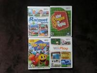 All wii games seen