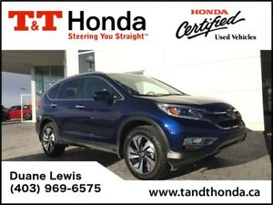 2016 Honda CR-V Touring *1 Owner, No Accidents, low KM's*