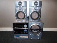 Sharp stereo system