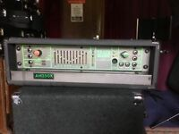 Trace Elliot AH350X 350W Bass Amp Head. Used and in good cosmetic and working order.