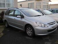 Peugeot 307S Estate for sale. 2004 Reg. Clean, tidy car. Reliable runner.