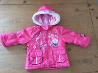 Autumn/Spring jacket for baby girl size 9-12M