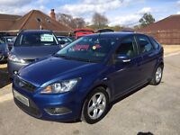 2008/08 FORD FOCUS 1.6 TDI ZETEC,5 DOOR,£30 ROAD TAX,METALLIC BLUE,GREAT ECONOMY,LOOKS+DRIVES WELL