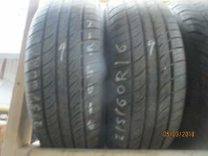 215/60R16 6 USED EVERGREEN A/S TIRES