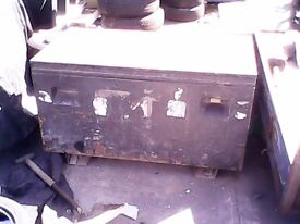 Large sealy tool safe for a pick up