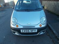 matiz, 1.0 , 2005, new mot, good miles , 5 door, low insurance