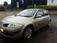 Renault megane 1.6 dynamique 56 reg facelift vgc inside and out