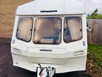 SUPERB Lunar Meteorite S 2 Berth Full Awning cosy lightweight spacious and damp free