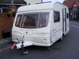 avondale argente 2 berth 2004 + 2 awnings and accessories