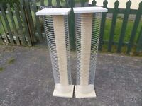 2 x Tall Mesh Cd Racks Delivery Available