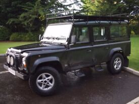 Land Rover 110 DEFENDER COUNTY SWTDI / 4x4 Utility/ 12 seats / 100k miles