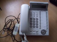 Panasonic KX-DT333 White Phone