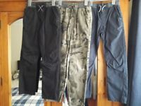 Three Pairs of GEORGE Boy's Trousers Age 9-10 Years VGC - cash on collection from Gosport Hampshire