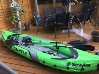 2 man Tahiti inflatable canoe