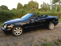 Mercedes Convertible CLK 430 Sport V8 Avantgarde, Bose, Cruise, leather, LOW MILEAGE, VERY RARE CAR