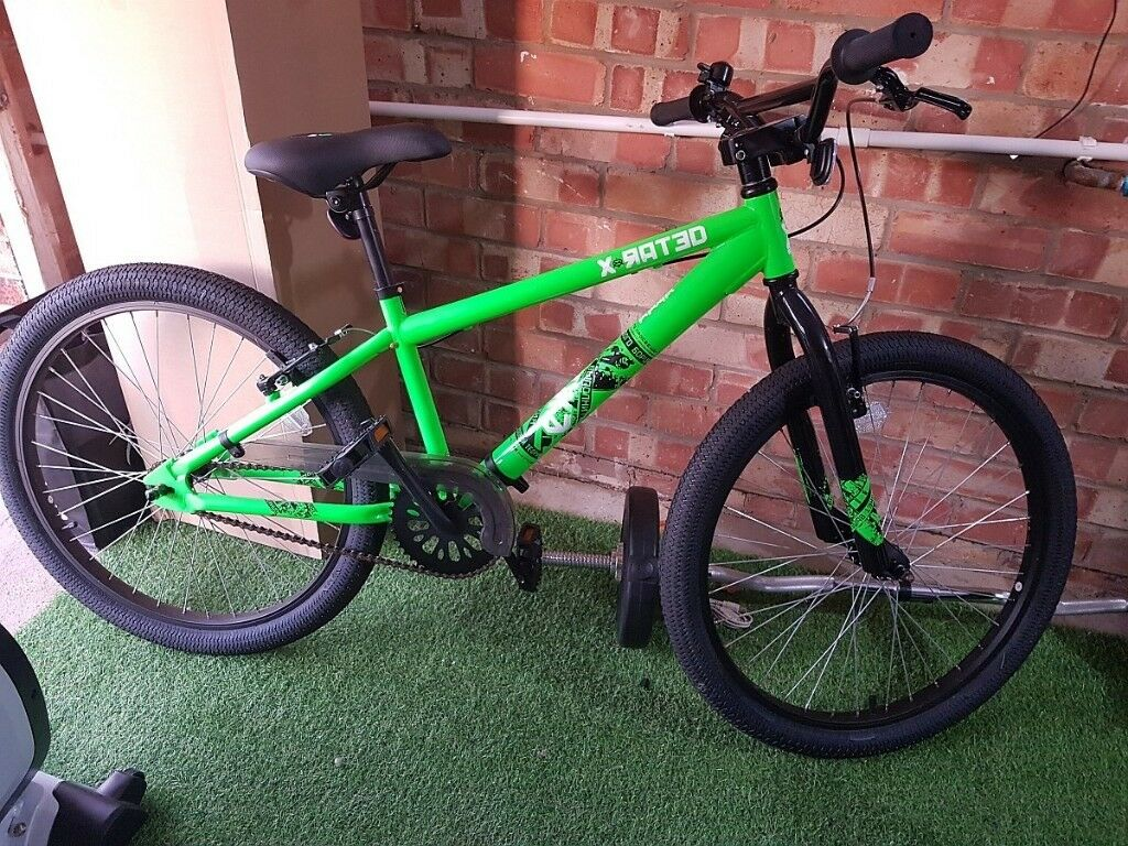 new x-rated bmx bike 24inch/2.30 + free scooter, inc. delivery