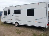 2008 COMPASS OMEGA 550 ISLAND BED & FULL AWNING *PRICE REDUCED*