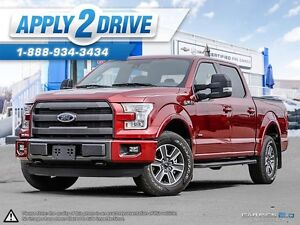 2015 Ford F-150 FX4 4x4 Loaded eco boost Leather sunroof