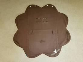 Wallaboo Brown Baby Wrap / Blanket