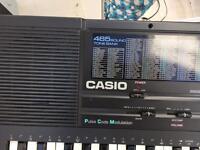 Casio Tone Bank (465 sound) key board