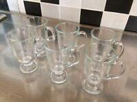 Espresso Glass Cups / Mugs x10