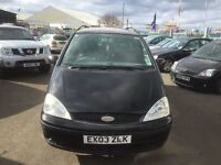 2003 ford Galaxy 2.8v6 ghia automatic 6 seater fully loaded 12 months mot/3 months warranty