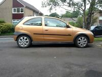 Vauxhall corsa 1.7tdi, 2003. One owner, good condition, full service history. Failed mot. £200.