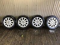 "Genuine 16"" Seat Leon alloy wheels - 5x112 - Will fit VW, Audi, Skoda"
