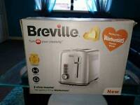 Breville 2 slice toaster in stainless steel