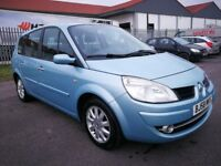 7 SEATER RENAULT GRAND SCENIC 1.6 MANUAL IN EXCELLENT CONDITION. 1 YEAR MOT. SERVICE HISTORY. 2 KEYS