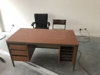 Office Work Desk and Chair
