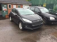 Ford Fiesta 2014 facelift breaking for spares replacement parts