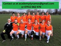 CLAPHAM LADIES FOOTBALL CLUB - PLAYERS WANTED!!!! WOMENS SOCCER/TRIALS/FEMALE/TEAM/PLAYER/LONDON/TOP