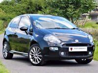 ★ONLY 18K MILES★ FIAT PUNTO 1.4 T-JET BLACK 2 - SPORT SEATS -ALLOYS - FSH