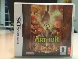 A Nintendo DS Game - Arthur and the Invisibles