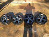 Vauxhall Corsa Sri alloys and Tyres 16inch