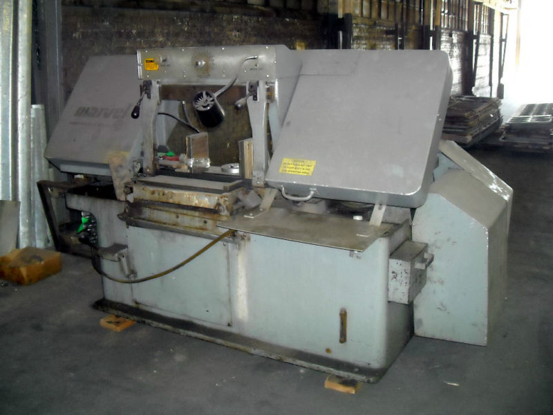 """Marvel 15"""" x 20"""" Horizontal Band Saw Model 15A4 M1 Complete Configuration"""