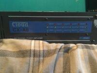 Cloud CX-A6 Channel Amplifier