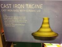 Brand new cast iron tagin