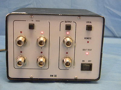 Electro-metrics Em-2515 Automatic Rf Switching Unit Dc-18ghz Ieee-488hp-ib