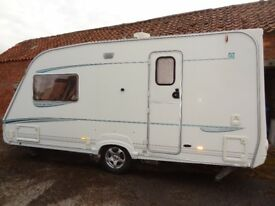 abbey vogue gts 216 2004 caravan excellent condition motor mover rear bathroom and shower