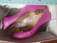 Poetic Licence, Fushia Pink Heels 41