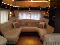 Hobby vip 2013 caravan