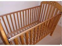 Mamas and Papas Amelia cot in beech