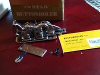 """""""YS Star"""" Buttonhole Attachment for Industrial Sewing Machine"""