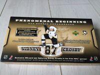 Sidney Crosby hockey card set