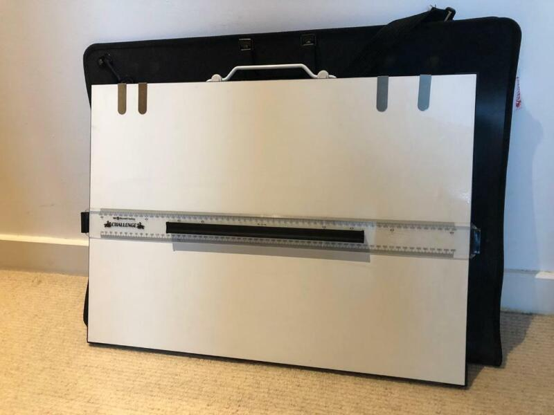 Portable A2 drawing board with carry case and paper clips  for sale  Leicester, Leicestershire